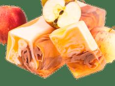 L´Cosmetics Prírodné ručne robené mydlo bez SLS - Jablková štrúdľa 100g +/-6%