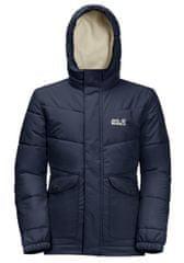 Jack Wolfskin Dziecięca zimowa kurtka Snow Fox Jacket 1609101_1010 104 niebieska