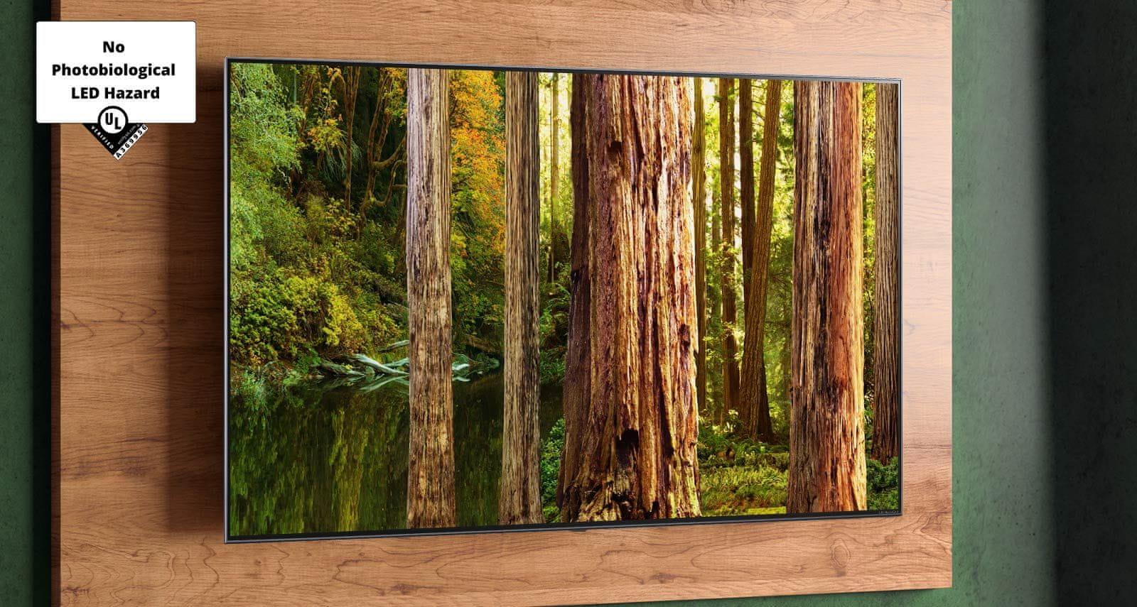 LG TV televízia NANOCELL 4K 2021 šetrný pre zrak modré svetlo životné prostredie bezpečný