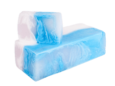 L´Cosmetics Prírodné ručne robené mydlo bez SLS - Flower aqua (inšpirované Lanvin - Eclat de fleurs) 100g +/-6%