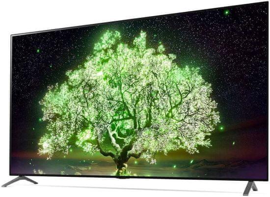 "LG OLED77A13LA 75"" (195 cm) 4K HDR Ultra HD (3840 × 2160) OLED webOS 6.0 Smart TV gamer mód hangvezérlés"