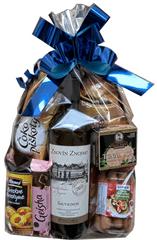 Pestrý Koš Dárkový balíček s jakostním vínem ze Znovín Znojmo