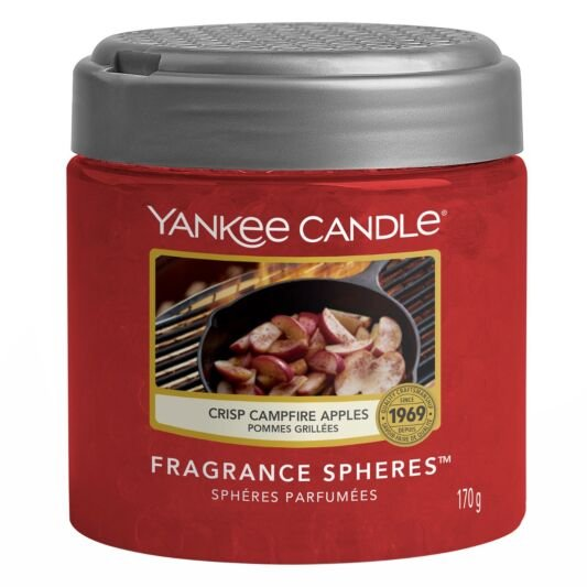 Yankee Candle Spheres vonné perly Crisp Campfire Apples (Jablka pečená na ohni) 170g