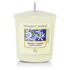 Yankee Candle votivní svíčka Midnight Jasmine (Půlnoční jasmín) 49g