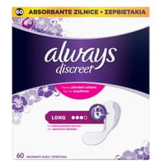 Always Inkontinenční vložky Long 60 ks