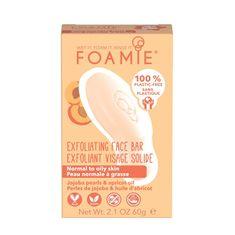 Foamie Čisticí pleťové mýdlo s exfoliačním efektem (Exfoliating Cleansing Face Bar) 60 g