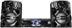 PANASONIC SC-AKX710E-K mini hifi torony 500 W/csatorna Bluetooth® (2 Ω, 1 kHz, 30% THD)fekete színben