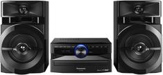 PANASONIC SC-UX100E-K Mini-Hifi Bluetooth® vezeték nélküli technológia Kompatibilis a MAX Juke alkalmazással fekete színben