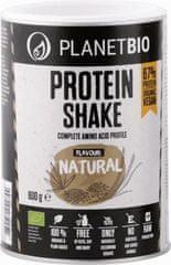 PlanetBIO Bio Proteínový prášok prírodný (600 g)