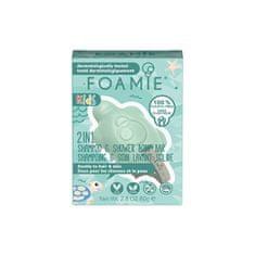 Foamie Dětské sprchové mýdlo na tělo a vlasy Mango & Coconut (2 in 1 Shampo & Shower Body Bar) 80 g
