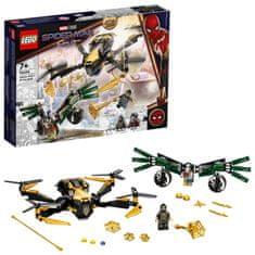 LEGO Super Heroes 76195 Spider-Man in dvoboj z dronom
