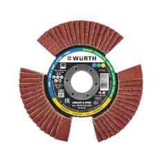 Würth lamelový průhledový brusný kotouč 125x 22,23mm CERALINE LONGLIFE & SPEED 0578810328