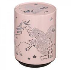led lampička 8x11x6,5cm pink