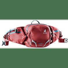 Deuter Pulse 3 pasna torbica, rdeča