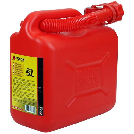 Aroso Kanystr na pohonné hmoty PHM / benzín / naftu 5l - červený