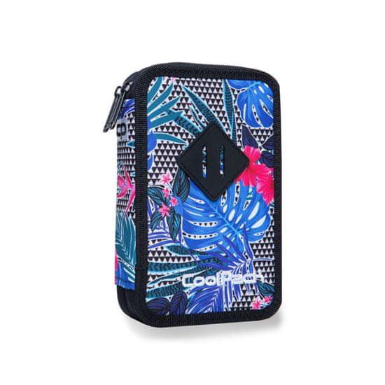 CoolPack Dvoupatrový penál Jumper 2 Aloha blue