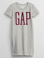 Gap Dívčí teplákové šaty Logo XL