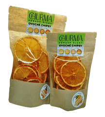 Sušené pomerančové chipsy, 50 g