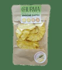 Sušené ananasové kroužky, 50 g