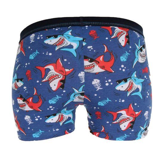 Cornette Dětské boxerky Kids modré (701/108)