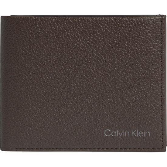 Calvin Klein Męska skóra portfel K50K507379BA3 Dark Brown