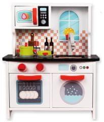 Bino Kuchyňka bílá s pračkou