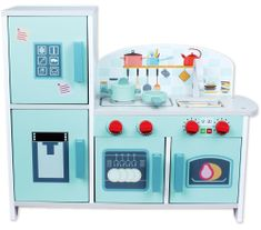Bino Velká kuchyňka s mini ledničkou