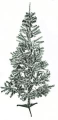 Aga božično drevo belo - zeleno 180 cm