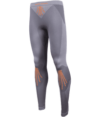 MAYA MAYA Ženske kompresijske hlače, športno aktivno perilo, brezšivne, sive, M