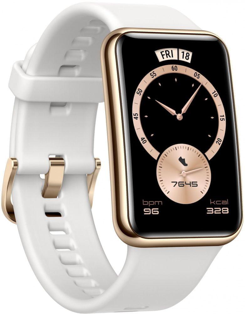 Huawei Watch Fit Elegant, bílé