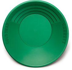 """Garrett zelená plastová rýžovací pánev 14"""" """"Gold Trap"""""""