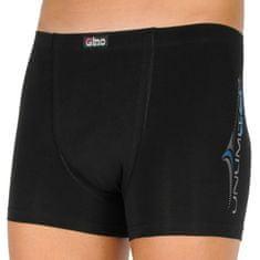 Gino Pánské boxerky černé (73102) - velikost XL