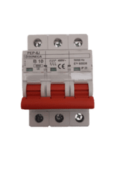 Bonega Jistič 10A třífázový elektrický Bonega B 10kA 03-3010B-PEP-10J