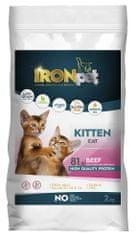IRONpet Cat Kitten Beef (Hovězí) 2 kg