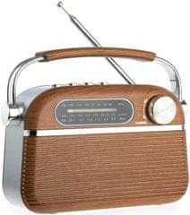 TIROSS Retro terenski USB FM bluetooth akumulatorski radio 2000mAh