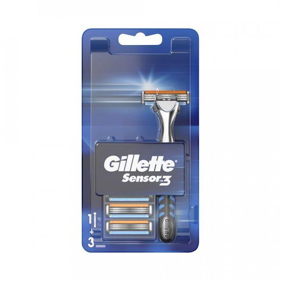 Gillette Sensor3 aparat za brijanje i rezervna glava, 4/1