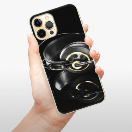 iSaprio Headphones 02 műanyag tok iPhone 12 Pro