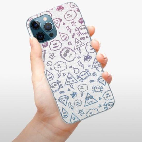iSaprio Plastikowa obudowa - Funny Clouds na iPhone 12 Pro Max