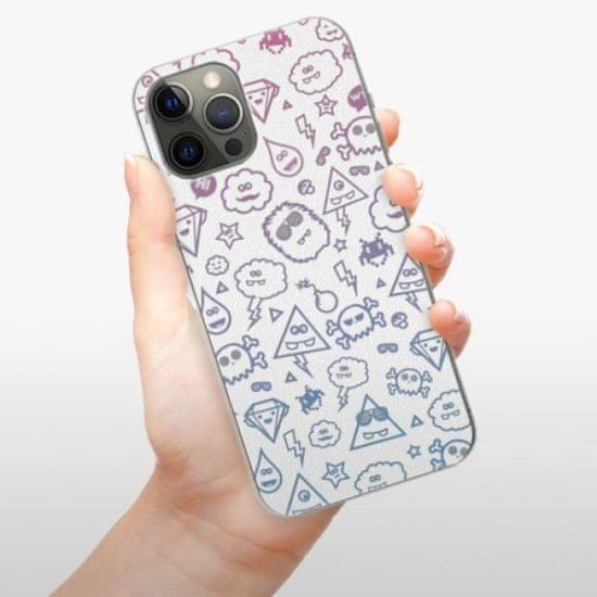 iSaprio Plastikowa obudowa - Funny Clouds na iPhone 12 Pro