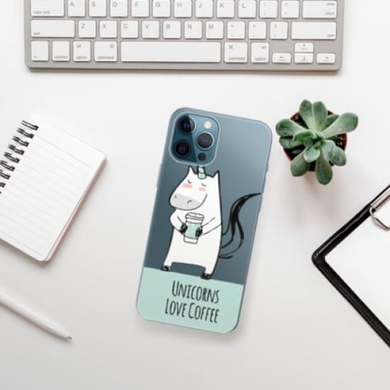 iSaprio Unicorns Love Coffee műanyag tok iPhone 12 Pro