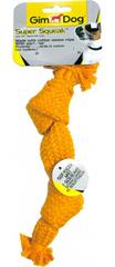 Gimborn Hračka pískací látkový uzel pro psy, 23 cm