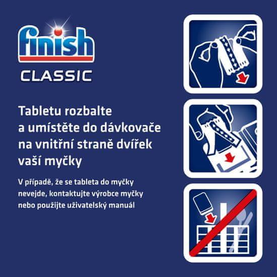 Finish Classic tablete za perilicu posuđa, 110 komada