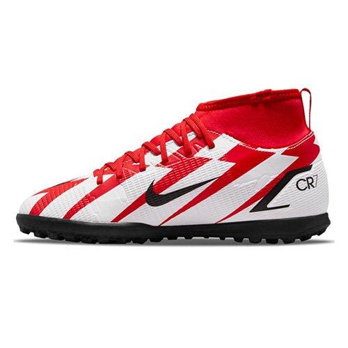 Nike Jr. Mercurial Superfly 8 Club CR7 TF, Jr. Mercurial Superfly 8 Club CR7 TF   DB0933-600   ČILE RED / BLACK-WHITE-TOTAL ORANGE   6Y
