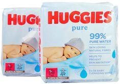 Huggies wipes PACK 2 x Pure Triplo 2 x 168ks