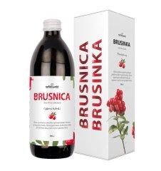 Nefdesanté Brusinka 500 ml 100% šťáva z Brusinky