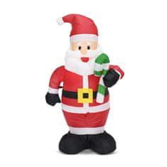 Family Christmas Napihljiv božiček 120cm IP44 1 LED 230V
