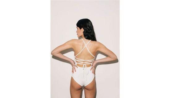 Norba Clothing Norba Purity Swimsuit White farba biela | veľkosť XS