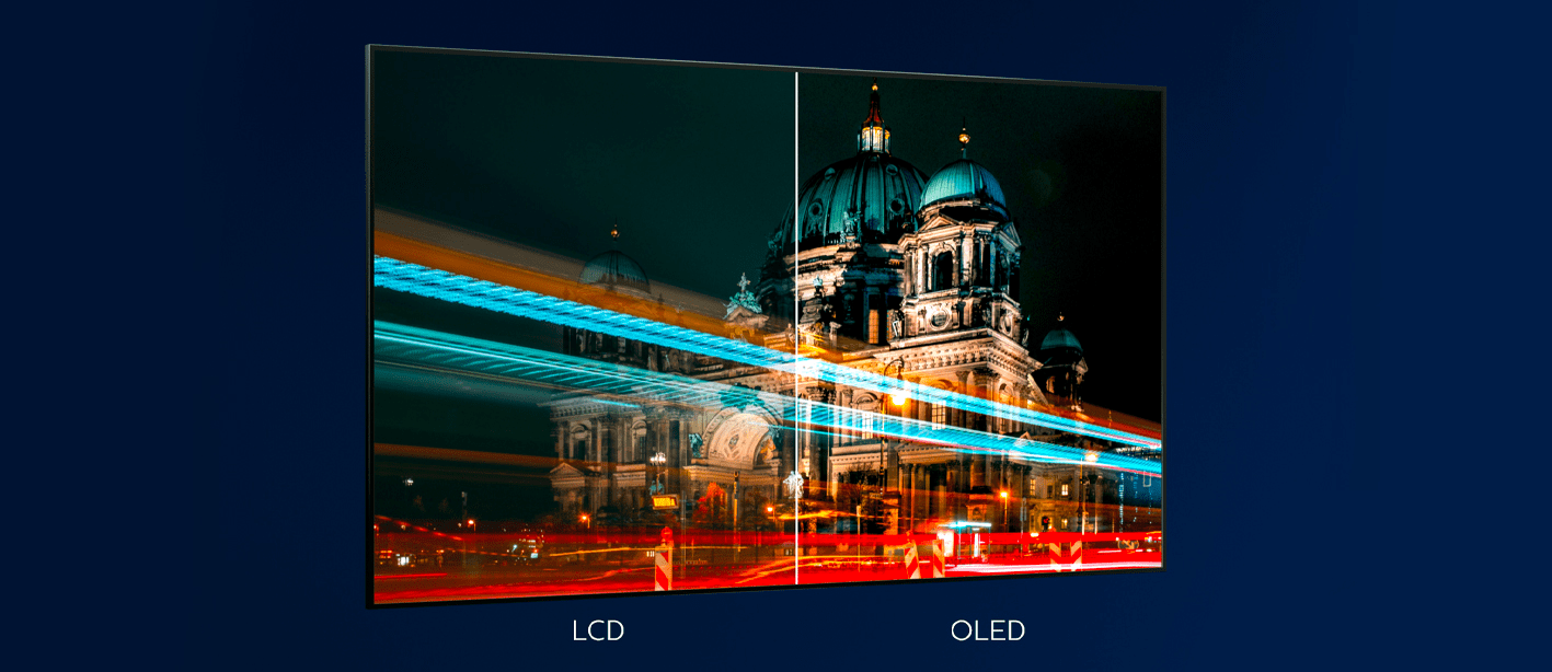 Philips tv televize OLED 4K 2021 Ambilight