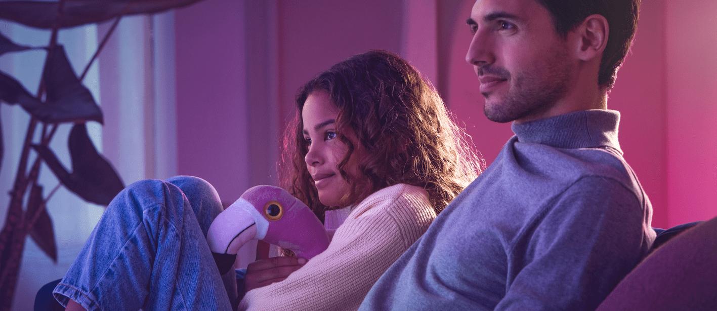 Philips tv TV TV OLED 2021 4K kék fény villogás nélkül szemvédelem