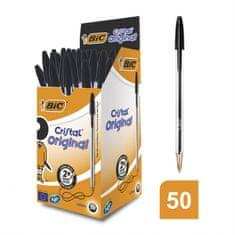 Bic Propisky BIC Cristal Original 1.0 mm, 50 kusů - černá